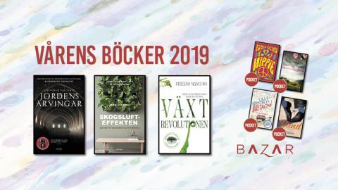 Vårens böcker från Bazar Förlag
