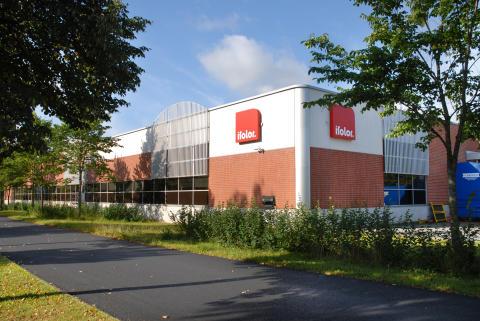 Ifolorin tuotantolaitos sijaitsee Keravalla