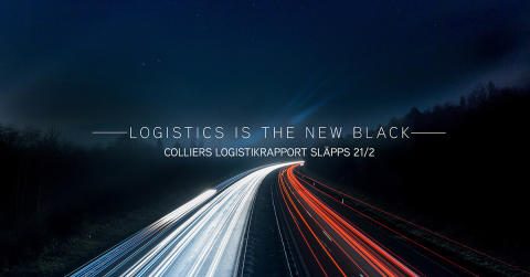 """""""Logistics is the new black"""" enligt Colliers"""