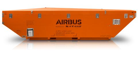 Containing and solving the problem - sharklet spares now fit into A320 cargo holds