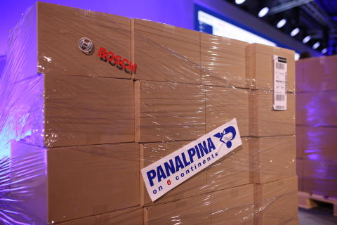 Panalpina is a long-term strategic partner of Bosch