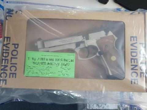 Firearm recovered
