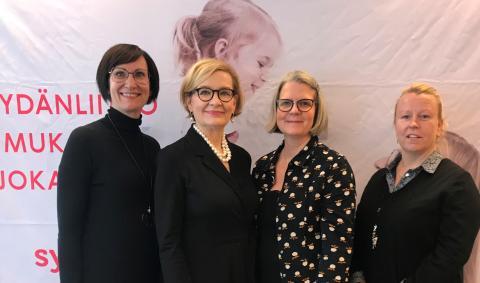 Sydänliiton puheenjohtaja Paula Risikko: sydänpotilaan kuntoutus kuntoon!