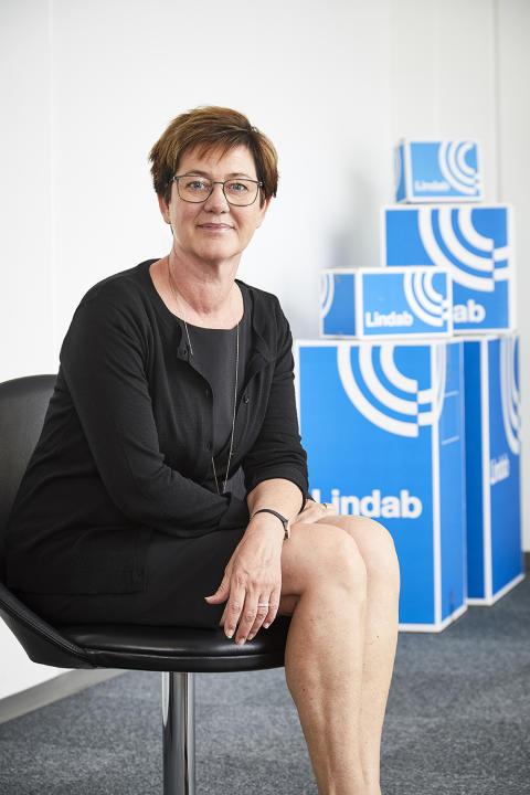 Mettte Brøndum, adm. direktør Lindab A/S