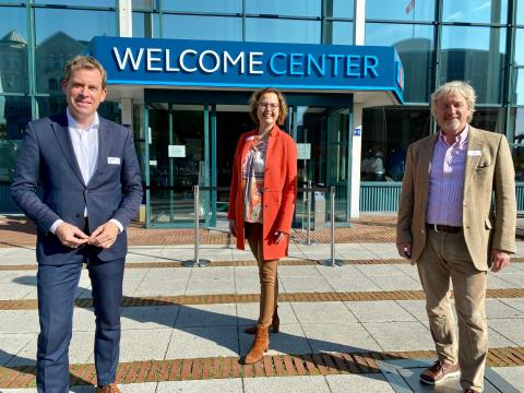 Eröffnung des neue Welcome Center Kieler Förde - das neue Herzstück für Gäste und Einheimische
