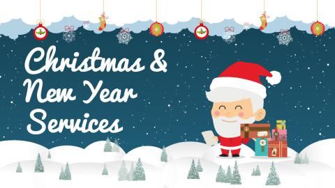 Christmas & New Year Services