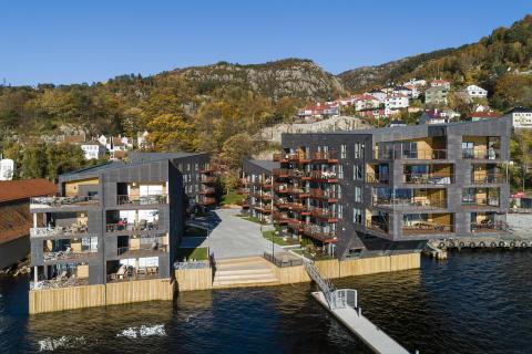 Elsesro brygge, Bergen