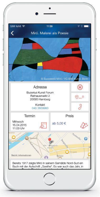 Veranstaltungen Hamburg iOS