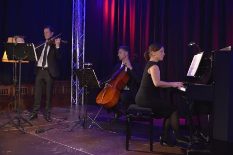 Kupfersaal - Solisten der Philharmonie Leipzig auf der kleinen Bühne