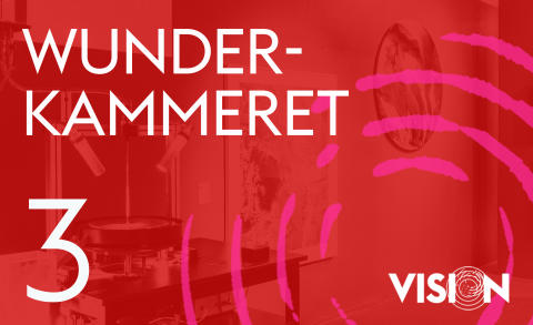 Ny kunstpodcast VISION: Wunderkammeret