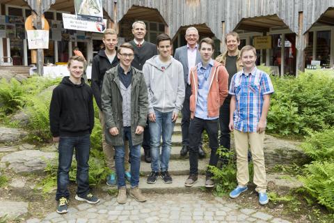 NaturVision 2014 - Sonderpreis: Johann Riederer Realschule Hauzenberg, Klasse 10a