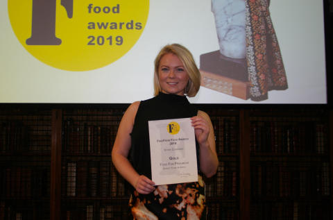 Gold award for Oumph! Thyme & Garlic and Bronze for the Oumph! Pizza in FreeFrom Food Awards