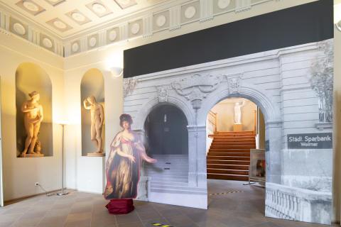 """Ausstellung """"200 Jahre Sparkasse in Mittelthüringen"""" - Maria Pawlowna"""