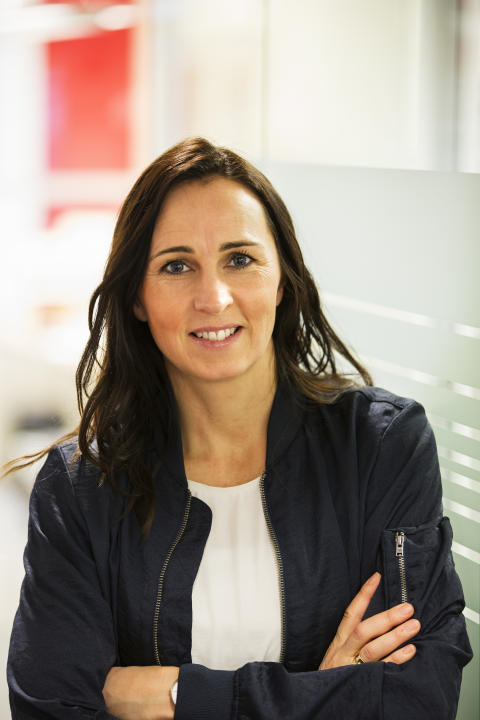 Therese Berg, hållbarhetschef Riksbyggen