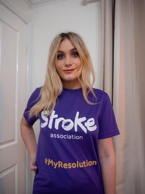 Leeds stroke survivor joins the resolution for the Stroke Association