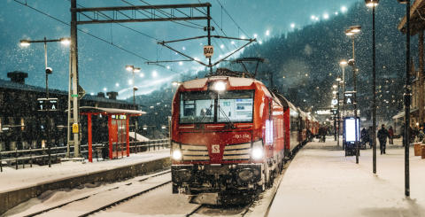 Snälltåget i Åre