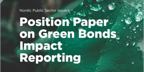 Nordiska emittenter uppdaterar sin guide för effektrapportering från gröna obligationer