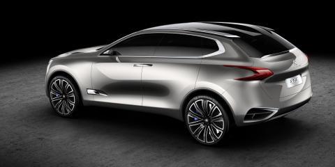 Peugeot presenterar ny konceptbil - SxC