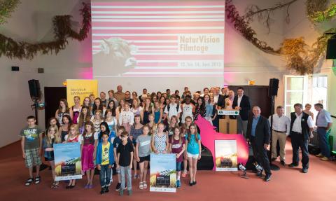 Foto Gesamt: Die Gewinner des diesjährigen Ideenwettbewerbs.