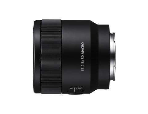 Sony lance le macro-objectif 50mm F2.8 plein format