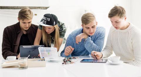 mehackit och Samsung ger skolelever inblick i teknikens värld