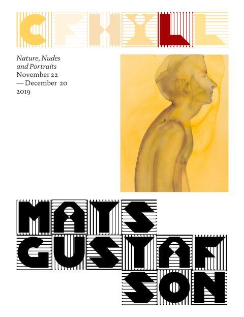 Mats Gustafson utställningskatalog CFHILL