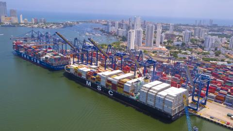 Good cards for Cartagena and Panalpina's LCL Ocean Freight hub