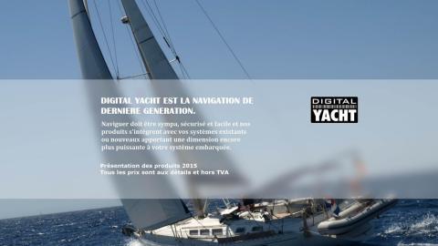 Présentation produits Digital Yacht 2015