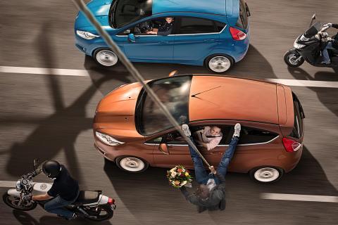 Nye Ford Fiesta nylig tildelt 5 stjerner fra Euro NCAP