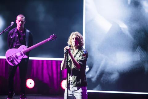Dúné åbnede showet ved Kronprinsparrets Priser 2016