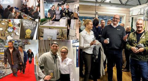 Beijer bjöd in till Sveriges största byggfest!