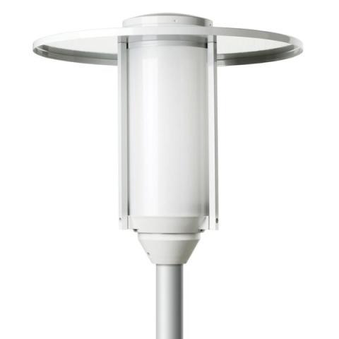 DEFA-Helena-Park-opal-LED-pole-mounted-utendørsbelysning-600x600