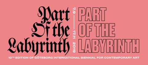Vernissage för Part of the Labyrinth!