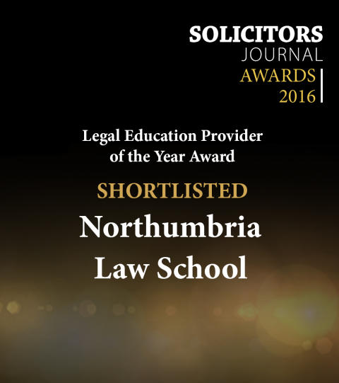 Law School shortlisted for Legal Education Provider of the Year