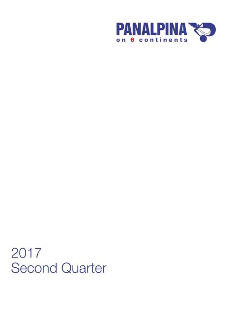 Half-Year Results 2017 – Consolidated Financial Statements