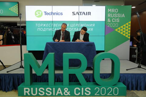 ENHANCED COMPETITIVE EDGE FOR S7 GROUP AND SATAIR: EXPANDING CAPABILITIES IN RUSSIA AND CIS WITH CONSIGNMENT AGREEMENT