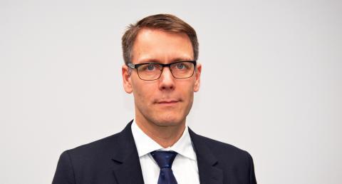 David Ångell, tjänsteutvecklare vid SOS Alarm.
