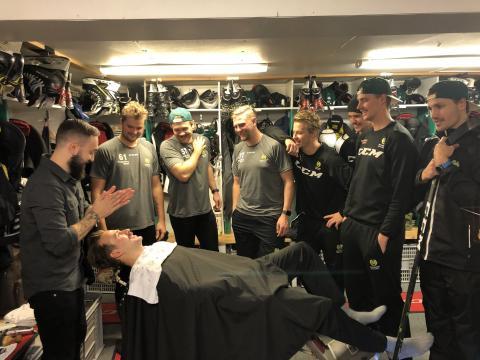 ATG Hockeyettan och Harry Boy i Mustaschkampen