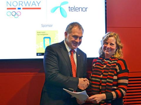 Telenor og NIF signerer ny avtale om mobilinnsamling