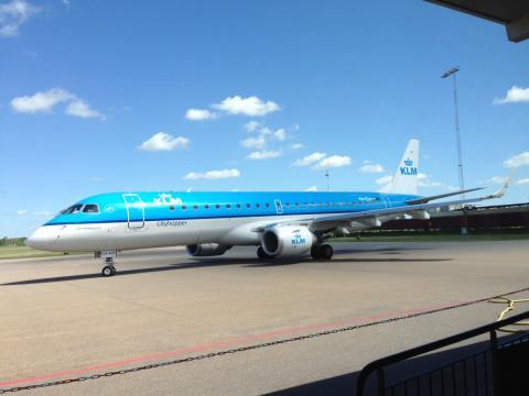 Rekordökning för KLM på Linköping City Airport under maj!
