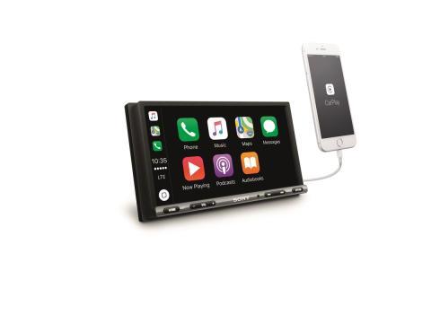 XAV-AX3005DB_EU,Oceania_Angle_with_iPhone-Mid