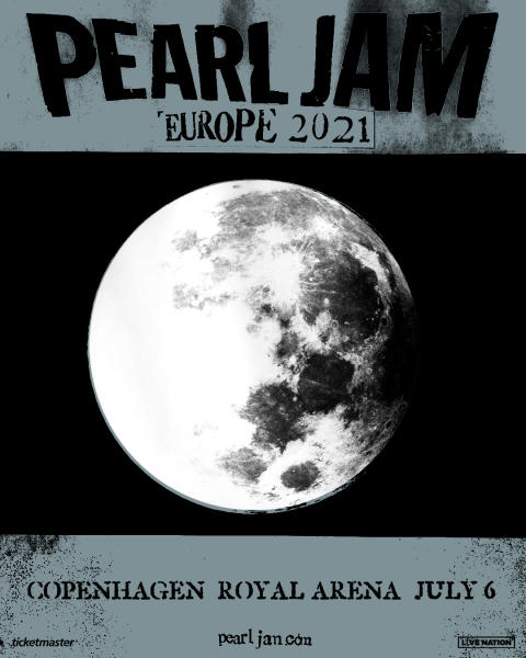 Pearl Jam annoncerer ny Royal Arena dato