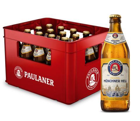 125 Jahre Hellbier-Tradition: Paulaner Münchner Hell 2021 mit neuem Auftritt