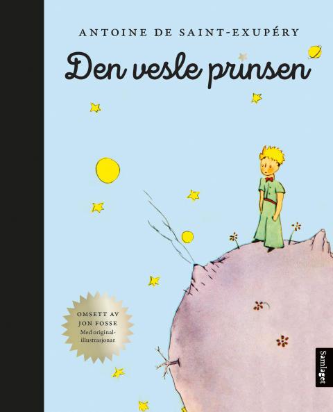 """Jon Fosse med nynorsk omsetjing av """"Den vesle prinsen"""""""