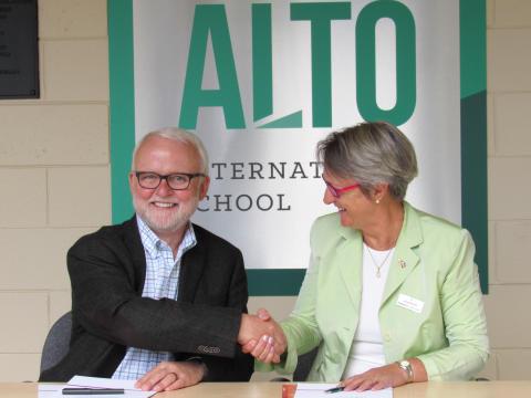 Louisenlund schließt Kooperation mit der Alto International School zur Förderung des deutsch-amerikanischen Austauschs