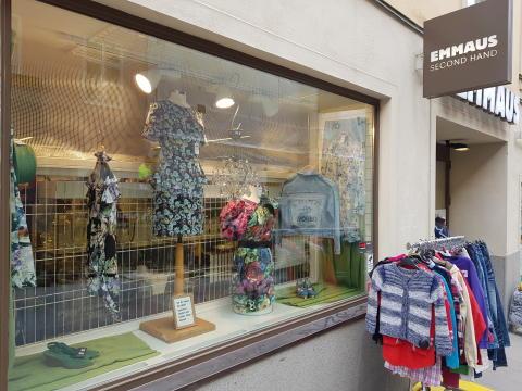 Emmaus Stockholms second hand-butik