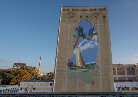 Hommage an die Au – Video über Graffiti-Aktion am Paulaner Malzsilo veröffentlicht