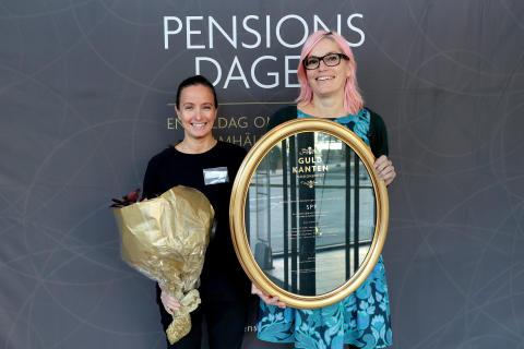 SPP årets vinnare av pensionspriset Guldkanten