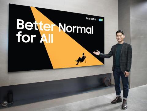 Samsung introducerar sina senaste innovationer under CES 2021