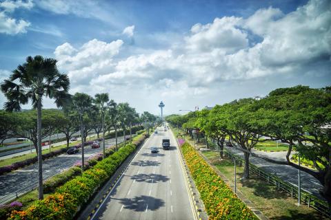 Reductions and rebates of aeronautical fees at Changi Airport
